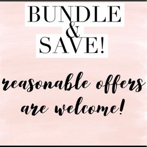🌹 Bundle & Save 🌹 Reasonable Offers Welcomed 🌹